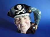 Small Royal Doulton 'Long John Silver' Character Jug D6386
